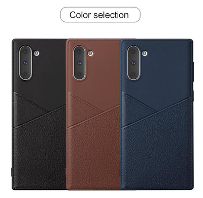 Platinum Design Leather Case Super Thin for Iphone 11 Pro - Wirelessoneshop