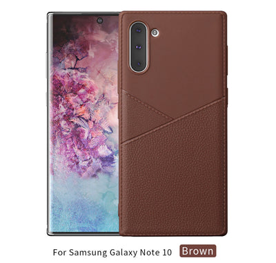 Platinum Design Leather Case Super Thin for Samsung Galaxy Note 10 Plus - Wirelessoneshop