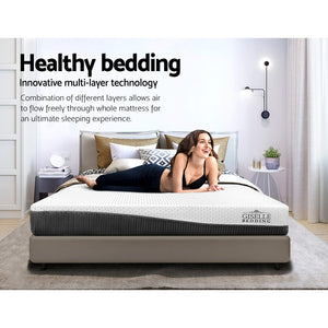Giselle Bedding Queen Size Memory Foam Mattress Cool Gel without Spring