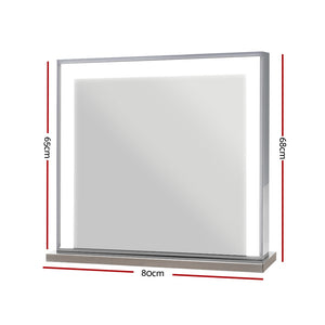 Embellir Hollywood Makeup Mirror With LED Light Vanity Beauty Frameless
