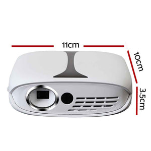 Devanti Mini Video Projector Wifi USB HDMI Portable 1000 Lumens HD 1080P Home Theater