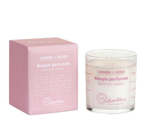 Lothantique Chemin de Roses Scented Candle 140g