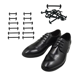 3221015 GENTLEMAN Siliconen schoenveters - Lazy Shoe Laces ™