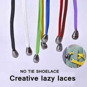 No Tie WATER DROPLETS Shoelaces