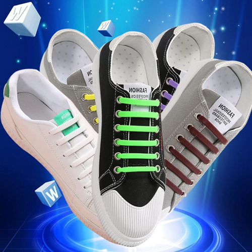 No Tie Silicone Shoelaces