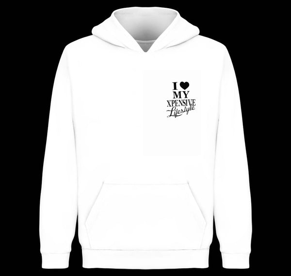 FLAVOR WHITE  XL LOVE HOODY