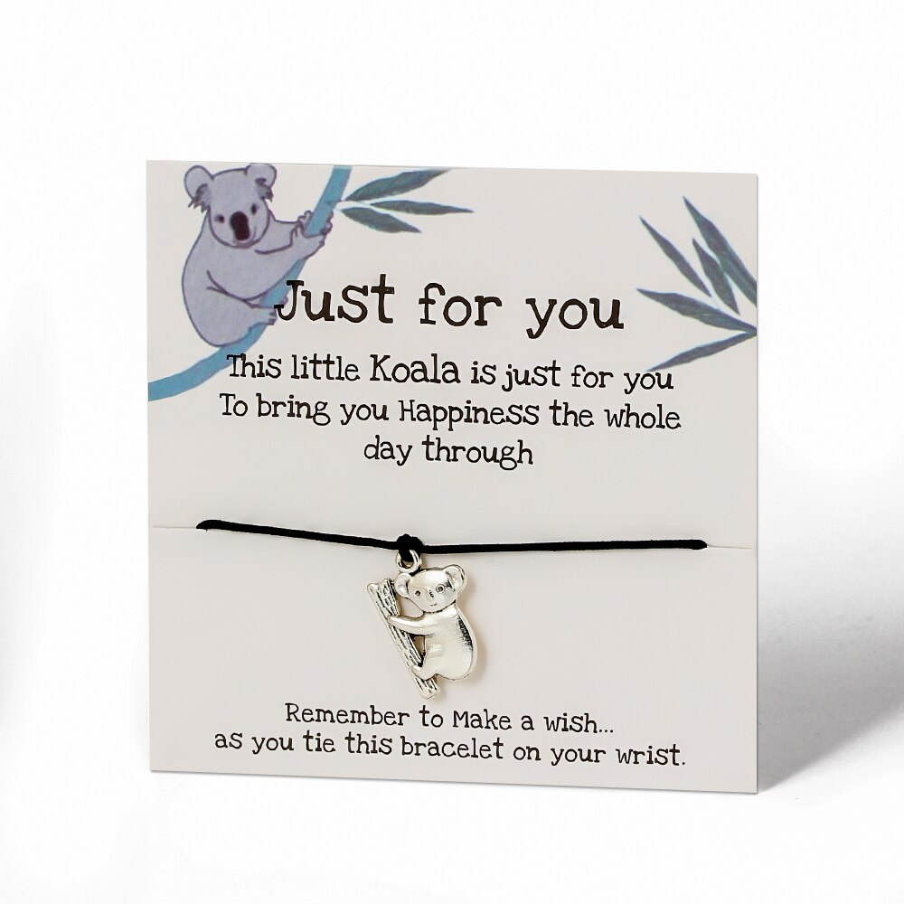 Lewis The Koala Australia Bracelet (Plants 1 Tree)