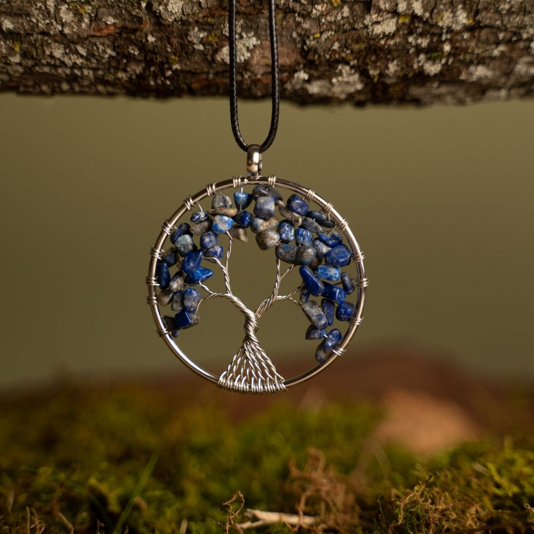 Tree Of Life Necklace (Plants 1 Tree in the Amazon Rainforest)