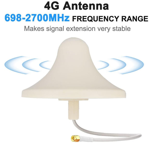 4G Antenna 698-2700MHz 5dbi Panel 4G LTE Aerial SMA male Omnidirectional Antenne Celling antenna Easy Install