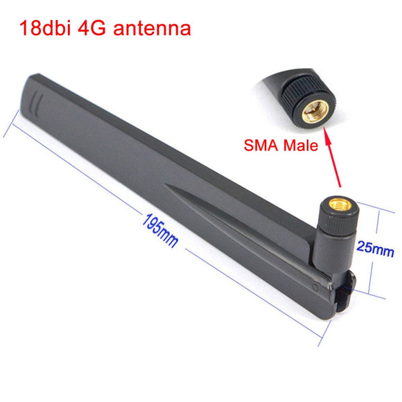 2.4Ghz 18 dbi Aerial Wireless WIFI Antenna SMA male Booster Universal Antennas Amplifier WLAN Router Connector