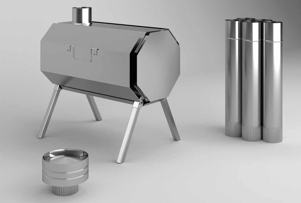 "Universal Wood Stove ""Vector"""