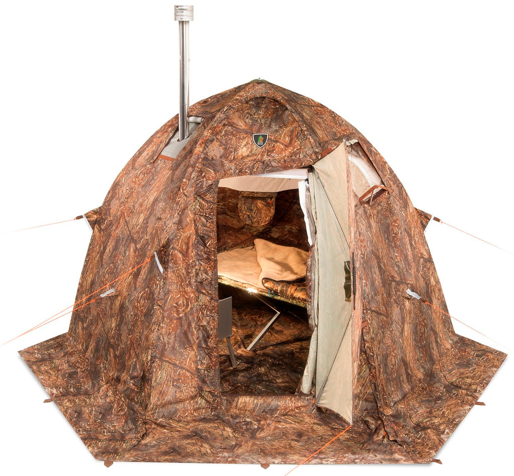 "All-Season Tent with Stove Jack ""UP-2-mini"". Best tent for 1-3 person."