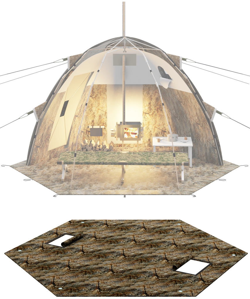 "Three-Layer Floor for ""UP-2 Mini"" Tent"
