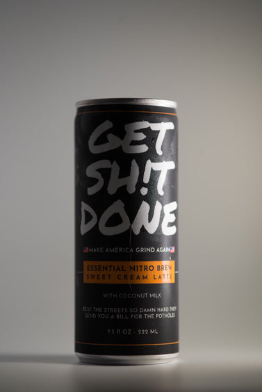 Get Sh!t Done Sweet Cream Nitro Latte 12 or 18 cans - Home Of The Hustle