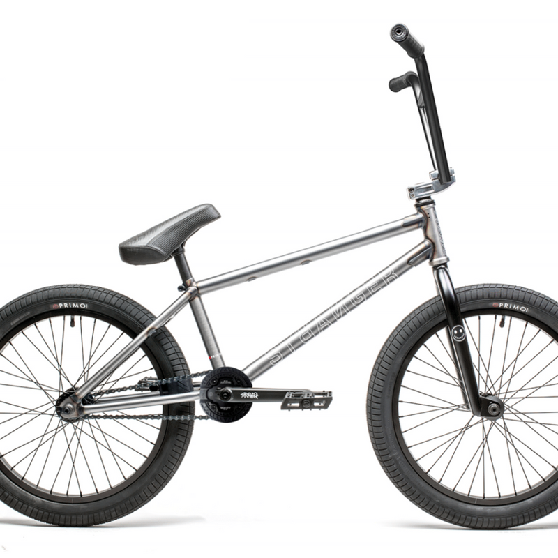 "21 BICICLETA 20"" STRANGER LEVEL FREEC RHD 20.75"" RAW MATE"