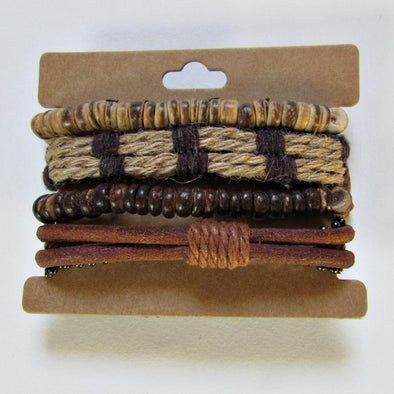 Charms strap leather and twine