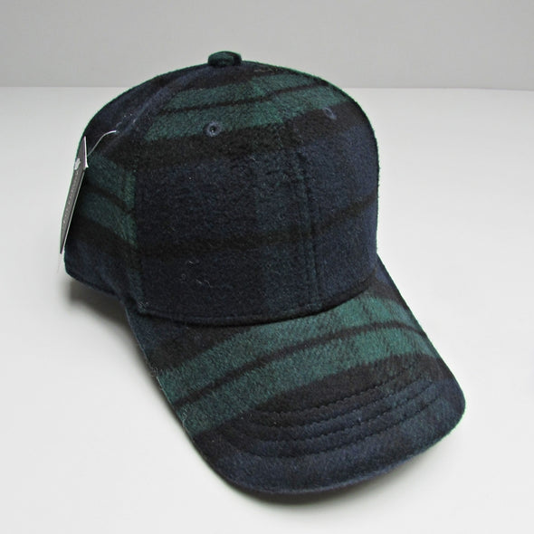 Baseball cap Blackwatch plaid