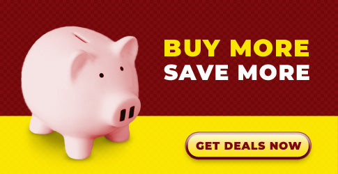 Banner - Buy more and save more with quantity discounts.