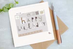 Happy Birthday Card - Birthday Card - Gender Neutral Card