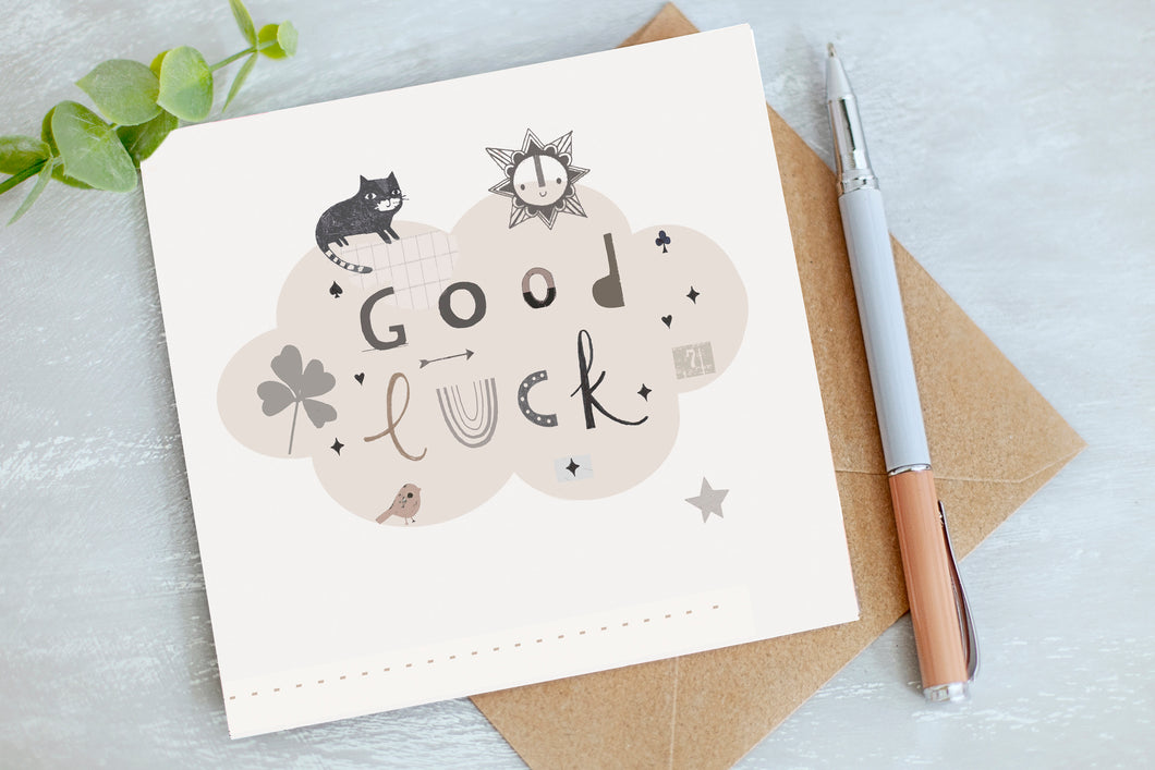 Good Luck - Greetings Card