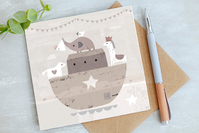 New Baby Card - Baby Greetings Card