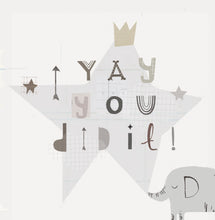 Load image into Gallery viewer, You Did It - Congratulations - Greetings Card