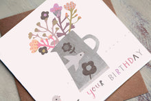 Load image into Gallery viewer, It's your Birthday - Flowers Birthday Card
