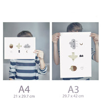 Load image into Gallery viewer, ABC Print - Nursery Print
