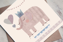 Load image into Gallery viewer, Elephant Birthday Card - Boys Birthday Card