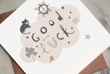 Load image into Gallery viewer, Good Luck - Greetings Card