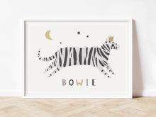 Load image into Gallery viewer, Personalised grey tiger print
