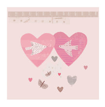 Load image into Gallery viewer, Heart Birds - Valentine Card - Blank Greetings Card