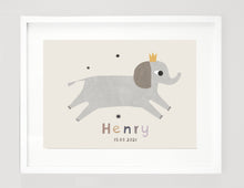Load image into Gallery viewer, Personalised elephant print