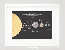 Load image into Gallery viewer, Solar System Print - Landscape Format