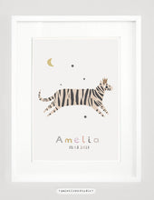 Load image into Gallery viewer, Personalised tiger print - portrait