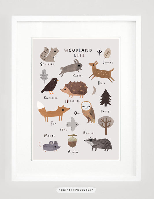 Woodland Animals Nursery Decor