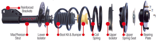 FCS quick strut available at One Guy Garage - auto parts in Lethbridge Alberta