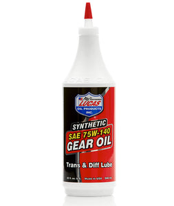 Lucas Synthetic 75w140 Gear Oil