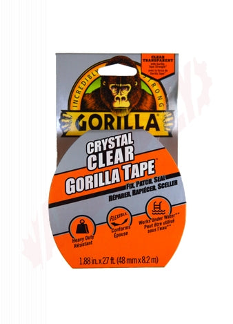 9 YD CRYSTAL CLEAR GORILLA TAPE