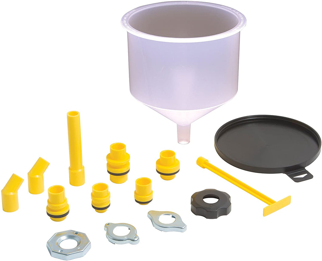 LID FOR SPILL FREE FUNNEL