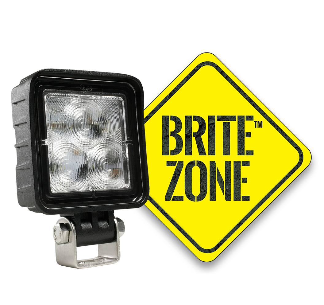 BriteZone Square LED Work Light