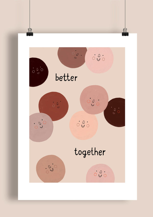 Ilustrace A3 - better together