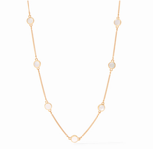Delicate Station Necklace