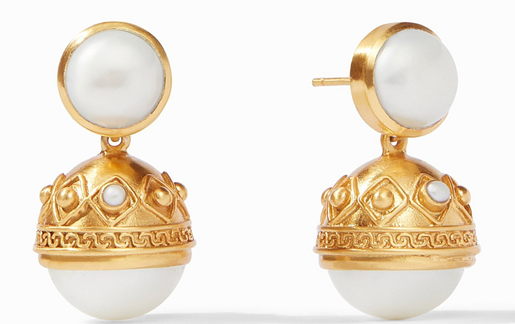 Pearl Statement Earring
