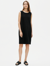 Load image into Gallery viewer, Eileen Fisher Boiled Wool Jersey Dress