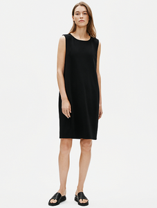 Eileen Fisher Boiled Wool Jersey Dress