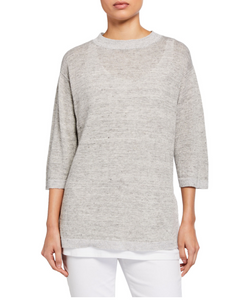 Seamless Feather-weigh Luxe Merino Bateau Tunic