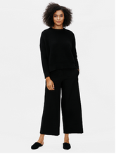 Load image into Gallery viewer, Eileen Fisher Black Ankle Pants