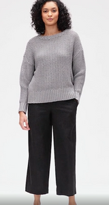 Eileen Fisher Black Ankle Pants