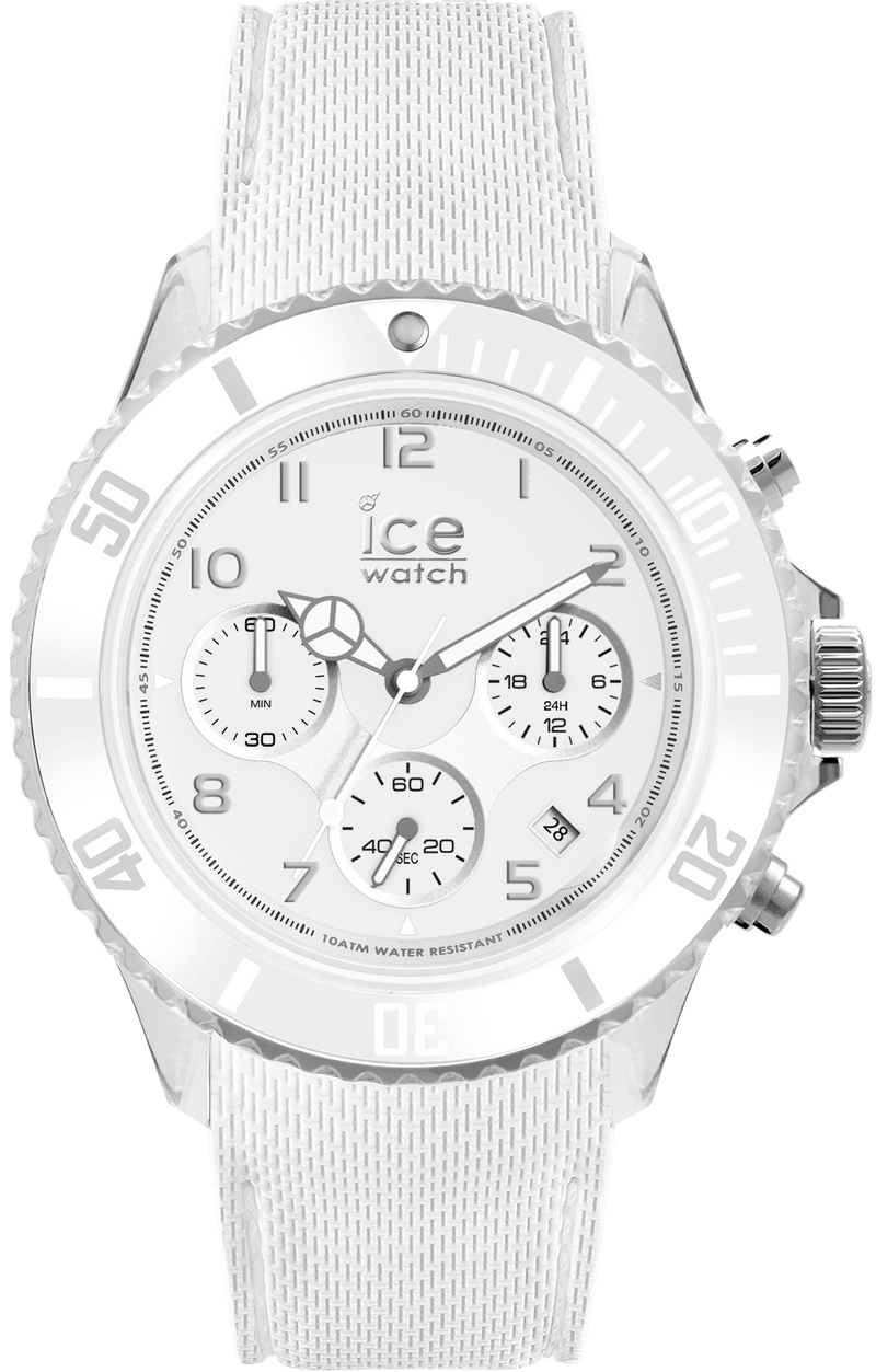 ICE WATCH Dune Collection White Case 44mm (L) White Dial White Strap